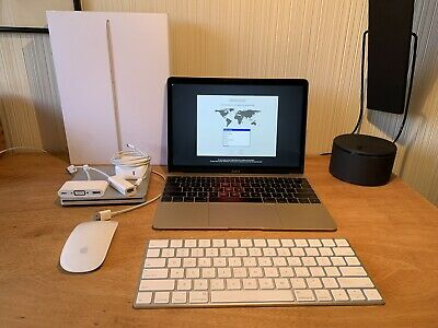 "Apple 12"" MacBook Gold (Early 2016) 1.2Ghz/8GB/512GB + DVD + Extras"