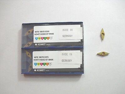 Voht 110302 07 Bk66 Komet Insert 10pcs Genuine