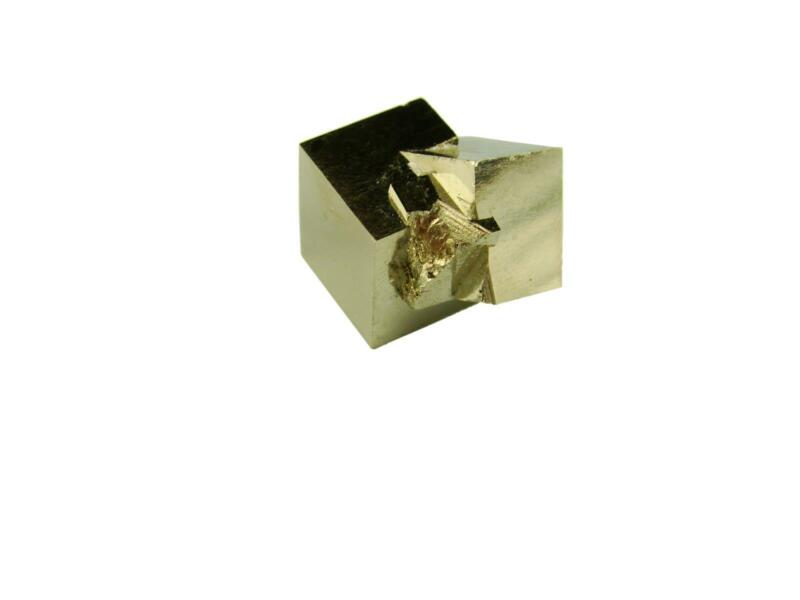 Navajun Spain Mine - Pyrite Cube Crystal With Display Case-#PC25