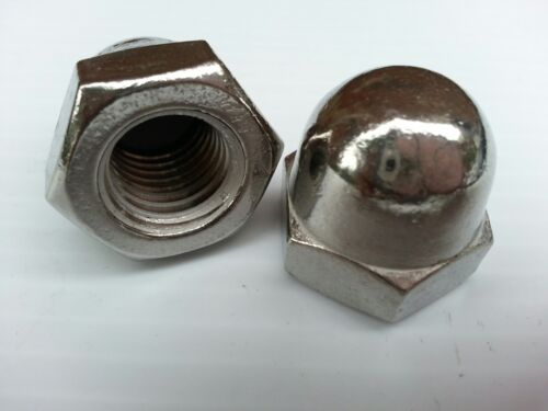 STAINLESS STEEL 5/8-11 Acorn Cap Nut (18-8) STAINLESS STEEL (Quantity of 1)