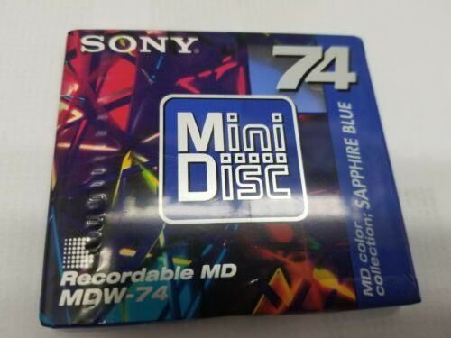 SONY MiniDisc Recordable MD MDW-74