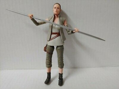 Star Wars The Black Series LOOSE Action figure 6 inch Rey