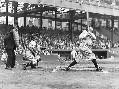 BABE RUTH THE SHOT 8X10 GLOSSY PHOTO PICTURE