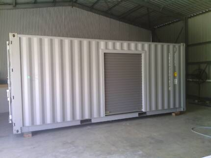 20FT SHIPPING CONTAINER STORAGE NEW BUILD