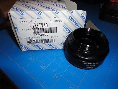 Olympus Camera Adaptor And Olympus Ix-tvad