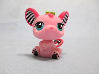 Littlest Pet Shop Mouse Baby Pink Speedy Tails fro RC Car 2165 Authentic Lps