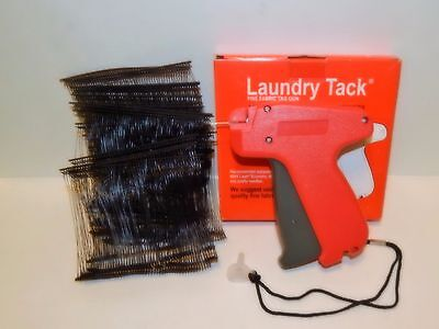 Fine Clothing Price Label Tagging Tagger Gun W 1000 Black Barbs Fastener 3