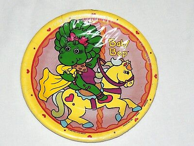 NEW  ~ BARNEY~BABY BOP     8-  PAPER DESSERT PLATES 7