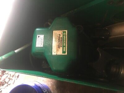Greenlee 980 Electric Hydraulic Pump With Pendant Used