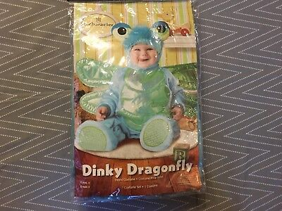 InCharacter Baby Dinky Dragon Costume SZ SMALL 6-12 MONTHS BRAND NEW FREE S/H  - Dinky Dragon Costume