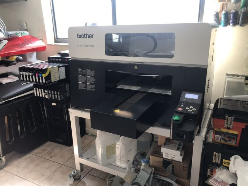 DTG Brother GT-381 Direct To Gatment Printer