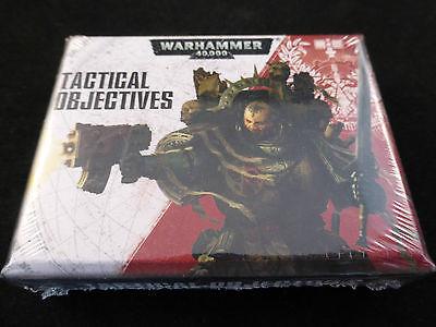 Warhammer 40K Tactical Objectives Cards Pack (Sealed)