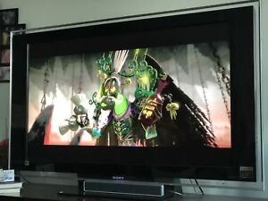"Sony 46"" BRAVIA XBR HDTV with Home Theatre System"