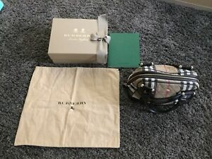 Burberry Leather Tote - Authentic