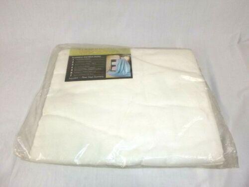 Vtg Beacon 780 Dream Sheet Lightweight Blanket White 70x90 Cotton Blend