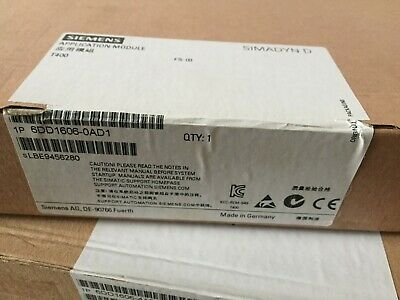 SIEMENS 6DD1606-0AD1 6DD1 606-0AD1 New In Box 1PCS