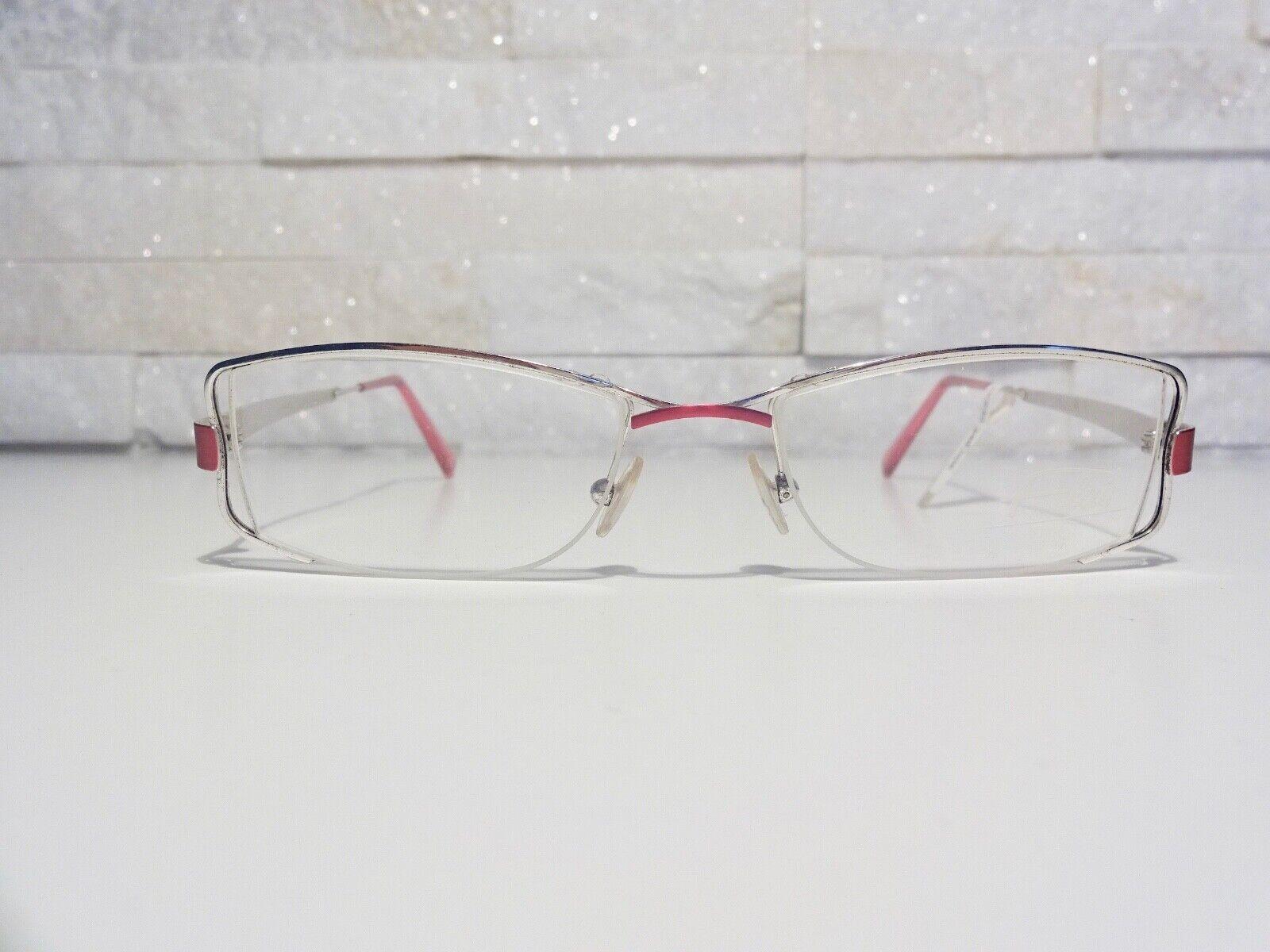 Flair Damen Brille Brillenfassung 852 Col. 517 Silber Pink NEU