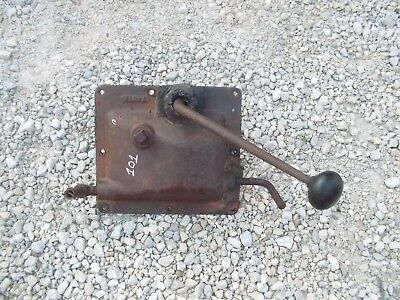Massey Harris 101 Tractor Original Mh Gear Shifter Tower Forks