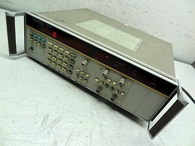 Hp Hewlett Packard Agilent 5335a Universal Counter - 200 Mhz