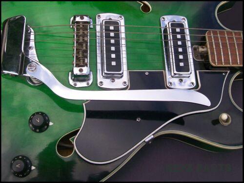 Japanese Hollowbody Guitar Tremolo Arm + Mounting Hardware    EZPZ GUITAR PARTS