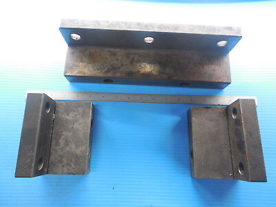 3 Pcs Makino Pallet Stop Blocks Cnc Mill Machine Shop Tools Large And Small.