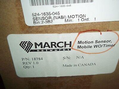 March Network  Motion Sensor 18784  524-1635-045