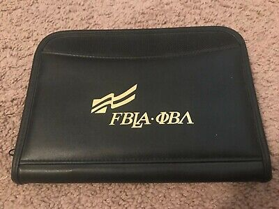 Fbla-future Business Leaders Of America Padfolio Notepadpen Holder
