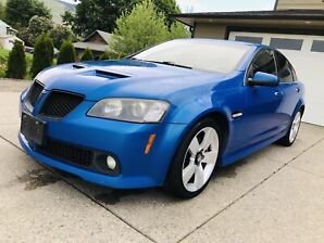 2009 Pontiac G8 GT 6.0L rare find!!! Priced to sell