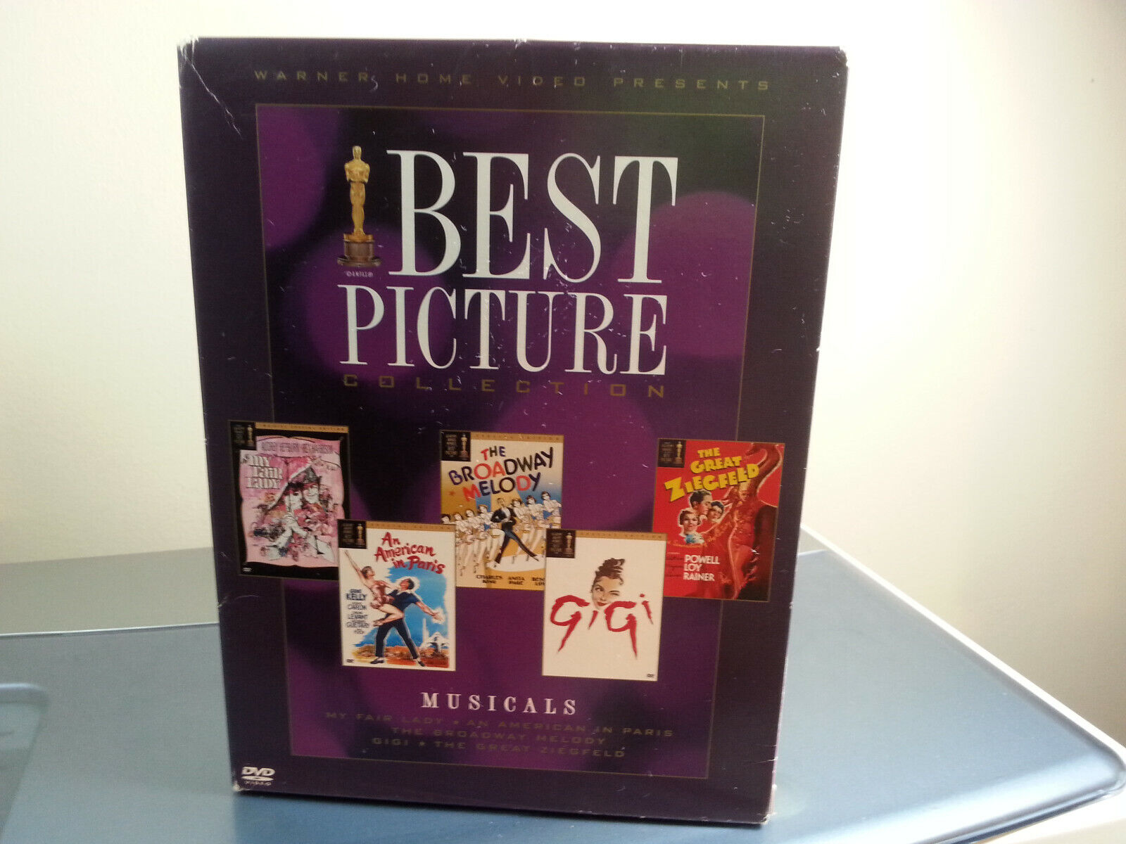 LikeNew 6 Disc DVD Box-Set Best Picture Collection - Musical 2005  - $18.99
