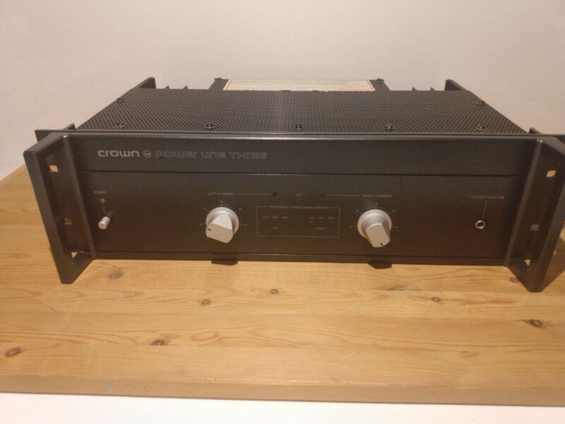Crown Power Line Three Amplifier Pl-3