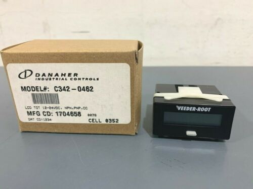 New Danaher Veeder-Root C342-0462 LCD Count Totalizer