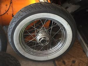Harley Rims + Tires
