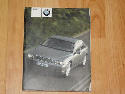 BMW E65 Handbook