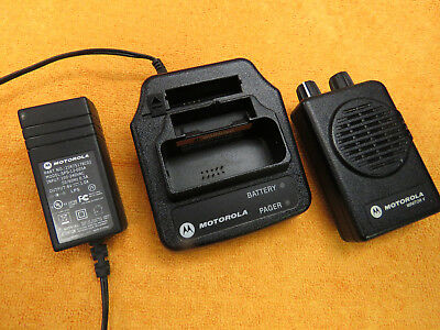 Motorola Minitor V 5 Low Band Pagers 47.1250 Mhz 1-freq Non-stored Voice