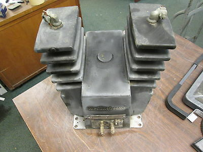Westinghouse Type Ptom Potential Transformer 249a616g07 Ratio 1001 110kv Bil