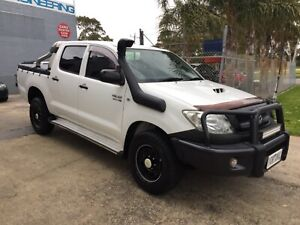 2011 TOYOTA HILUX SR 3.0 LITRE DIESEL TURBO 5 SP MANUAL 4X4 DUAL CAB Mordialloc Kingston Area Preview
