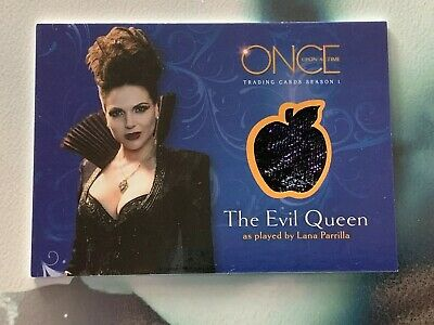 The Evil Queen Once Upon A Time (Once Upon a Time Season 1 Wardrobe M07 Lana Parrilla as The Evil Queen)