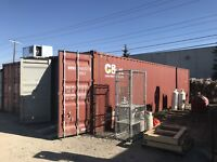 Used 40 ft Sea C Can Container Wind and Water Tight Calgary Alberta Preview