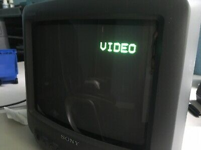 Sony Trinitron KV-9PT20 9'' CRT TV Retro Gaming Color Tube Television 1995
