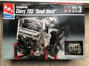"""Vintage AMT 1/6 Chevrolet Chevy 283 """"Small Block"""" Model Engine"""
