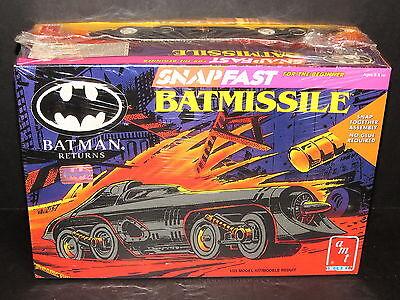 BATMAN RETURNS - BATMISSILE MODEL KIT 1:25 SCALE AMT/ERTL KIT #6614 1992 SEALED