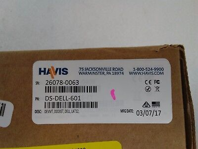 Havis Docking Station for Dell's Latitude 12 Rugged Tablet with Power Supply