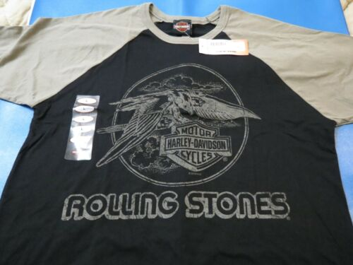 Harley Davidson ROLLING STONES tribute T shirts new w/tags  *RARE*