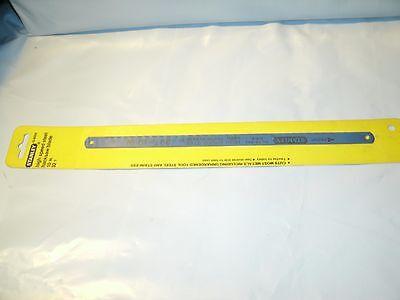 Stanley 15-802A Steel Hacksaw Blade, 10