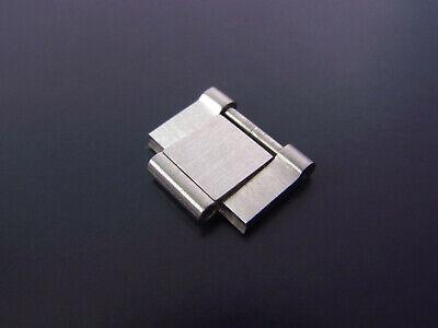 BULGARI BVLGARI Diagono Armband Glied Ersatzglied Stahl Bracelet Part Link 15 mm