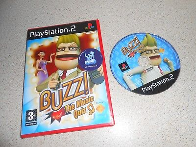 Buzz The Music Quiz (Sony PlayStation 2 PS2 )   ** IDEAL FOR CHRISTMAS PARTY ** - Games For Christmas Parties
