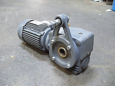 Sew Eurodrive Electric Motor And Gear Reduction 240460v 3 Phase