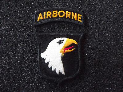 A6-BD30 USA Abzeichen 101 Division Airborne links Fallschirmjäger Tab