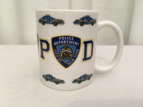 NYPD Police Department City of New York 12 oz. Multi-Graphic Coffee Cup