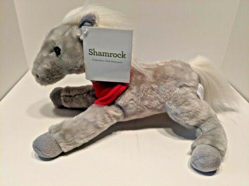 "Wells Fargo Legendary Pony SHAMROCK Plush 14"" Tan Horse 2013 NEW w/Tags"